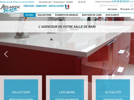avis atlantic bain morisseau lire donner son avis sur le site atlantic bain morisseau shop. Black Bedroom Furniture Sets. Home Design Ideas